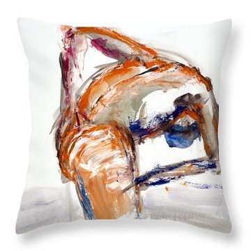 04903 Lost In The Water Throw Pillow