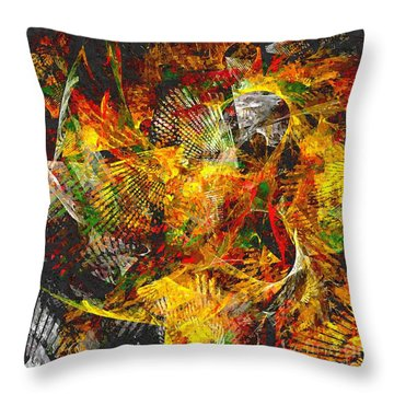 057-13 Throw Pillow