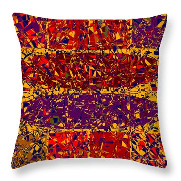 0688 Abstract Thought Throw Pillow by Chowdary V Arikatla