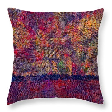 0799 Abstract Thought Throw Pillow