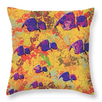 0886 Abstract Thought Throw Pillow by Chowdary V Arikatla
