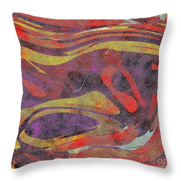 0906 Abstract Thought Throw Pillow by Chowdary V Arikatla