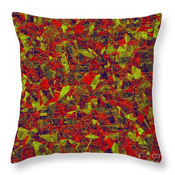 0196 Abstract Thought Throw Pillow by Chowdary V Arikatla
