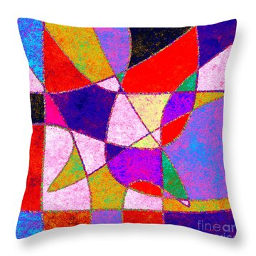 0269 Abstract Thought Throw Pillow