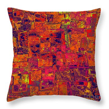 0295 Abstract Thought Throw Pillow by Chowdary V Arikatla