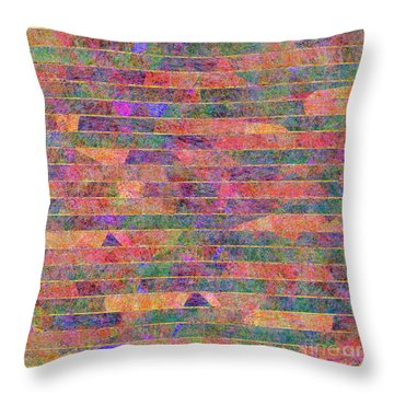 0310 Abstract Thought Throw Pillow