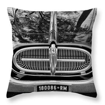 1952 Ferrari 212 Vignale Front End Throw Pillow by Jill Reger
