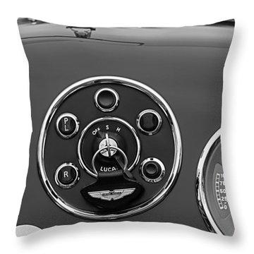 1953 Aston Martin Db2-4 Bertone Roadster Instrument Panel Throw Pillow
