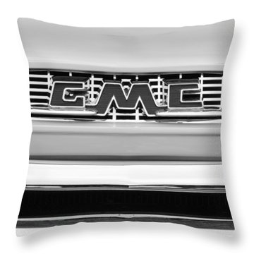 1956 Gmc 100 Deluxe Edition Pickup Truck Throw Pillow