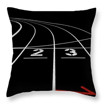 Tracks Throw Pillows