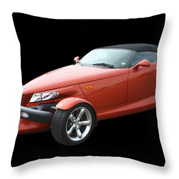 2002 Plymouth Prowler Throw Pillow by Jack Pumphrey