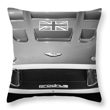 2005 Aston Martin Dbr9 Throw Pillow