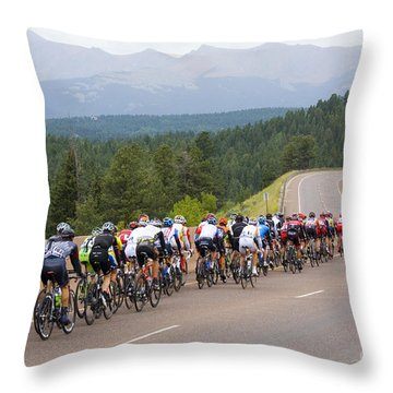 2014 Usa Pro Cycling Challenge Throw Pillow