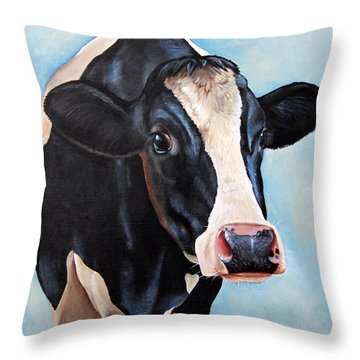 501 Throw Pillow