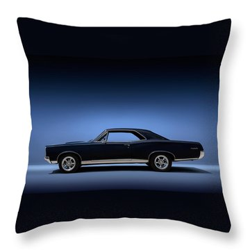 67 Gto Throw Pillow