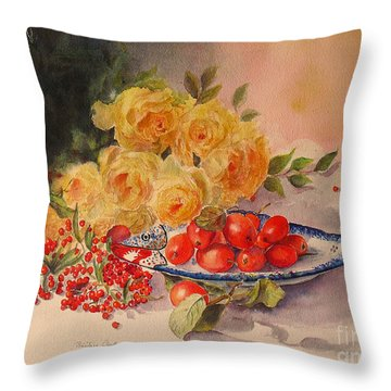 A Berry Or Two Throw Pillow