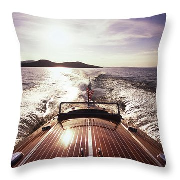 Lake Winnipesaukee Throw Pillows