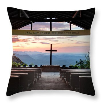 A Good Morning At Pretty Place Throw Pillow by Rob Travis