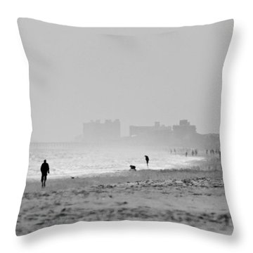 A Look South Throw Pillow