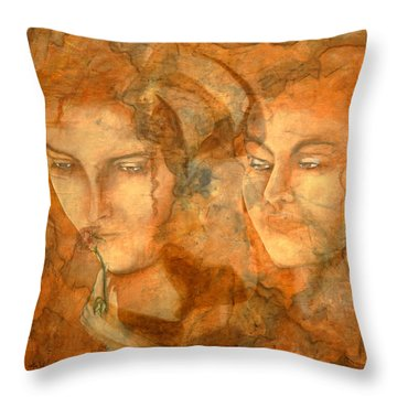 A Love That Will Never Fade  Throw Pillow