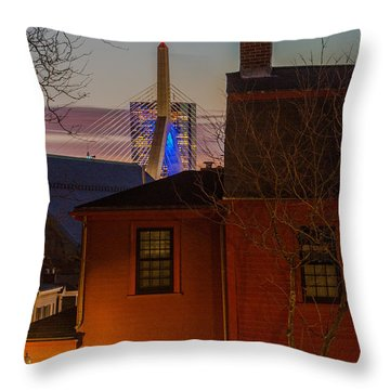 A View From Charlestown Throw Pillow