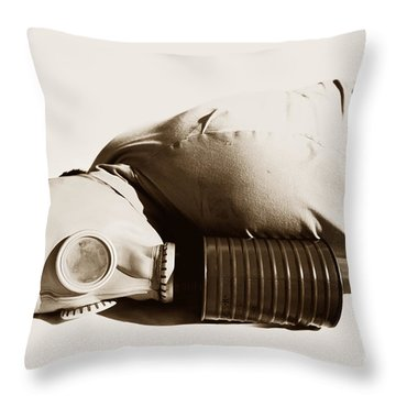 A Vintage Death Throw Pillow