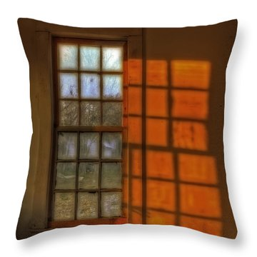 A Window Throw Pillow
