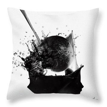 A World Within My Paint Pot ...---.... Throw Pillow