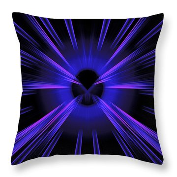 Abstract 0020 Throw Pillow