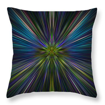 Abstract 0021 Throw Pillow