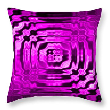 Abstract 134 Throw Pillow by J D Owen