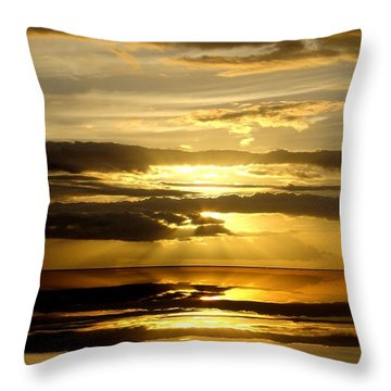 Abstract 91 Throw Pillow by J D Owen
