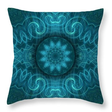 Abstract Beauty 16 Throw Pillow by Hanza Turgul