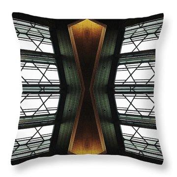 Abstract Empire Deco Throw Pillow