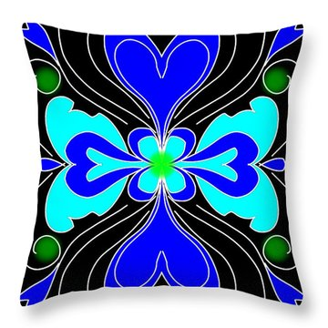 The Love Flower Throw Pillow