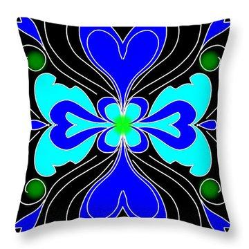 The Love Flower Throw Pillow