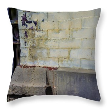 Abstract No.4 Throw Pillow