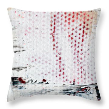 Abstract Original Artwork One Hundred Phoenixes Untitled Number Ten Throw Pillow