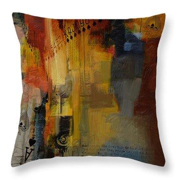 Abstract Tarot Art 013 Throw Pillow by Corporate Art Task Force