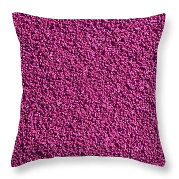 Abstract Texture - Purple Throw Pillow