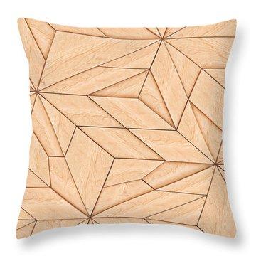 Tangram Throw Pillows Fine Art America