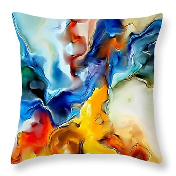 Abstraction 599-11-13 Marucii Throw Pillow