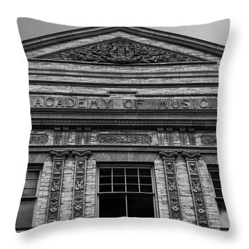 Academy Of Music Nothampton Massachusetts Throw Pillow