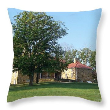 Adena Mansion Throw Pillow