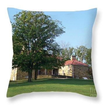 Adena Mansion Throw Pillow