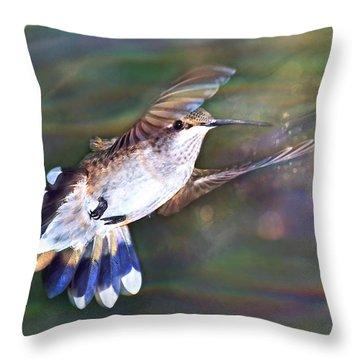 Aerial Dancer Throw Pillow
