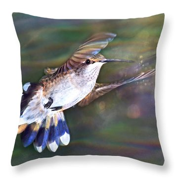 Aerial Dancer Throw Pillow