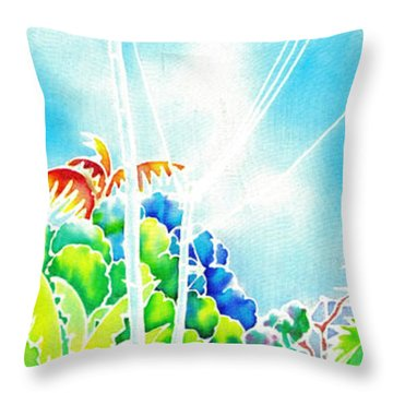 After The Squall Throw Pillow