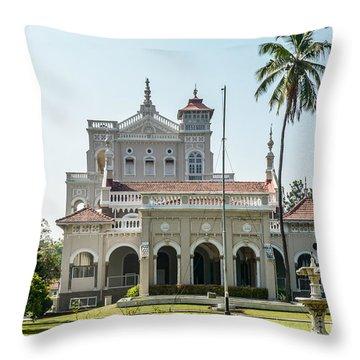 Aga Khan Palace Throw Pillow