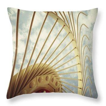 Agricultural Art Throw Pillow